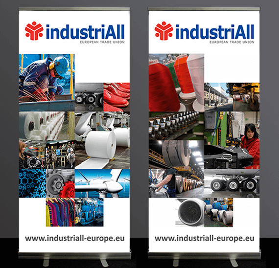 IndustriAll banners by Bloo agency