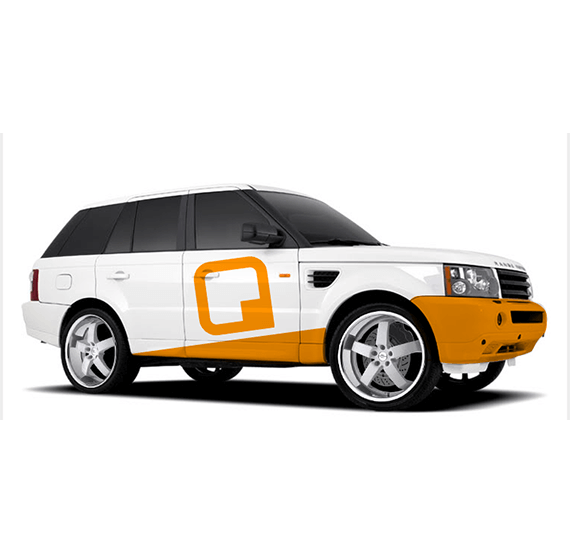 Group Q car by Bloo agency